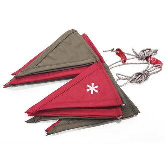 SNOW PEAK[2015年龄雪山峰节日]旗帜加兰UG-440