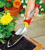 WOLF garten 【ウルフガルテン】 Planting Trowel グリップハンドル式 花スコップ『小』 【2P】