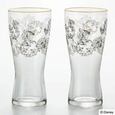 ディズニー 食器 グラスペアセット アラベスク ミッキー(タンブラーグラス×2)唐草模様のミッキーマークをデザインした高級感のあるグラスセットです。結婚祝いなど贈り物にもおすすめ【あす楽対応】