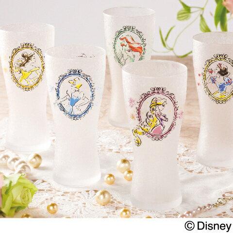 ディズニー 食器 タンブラー グラス(コップ) 『プリンセス グラス』 ディズニープリンセスの大人可愛い、おしゃれなタンブラーグラス。白雪姫、シンデレラ、ベル、アリエル、ラプンツェル、エルサの6種類。プレゼントにも ホワイトデー お返し 雑貨