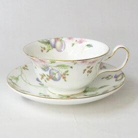 ティーカップ&ソーサー 食器 ウェッジウッド(Wedgwood)スウィートプラム ピオニー(紅茶カップ) 箱無しです