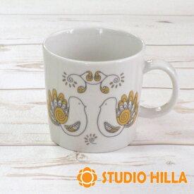マグカップ 北欧 陶器 ブランド スタジオヒッラ 鳥 『ピックリンツ』 イエロー 日本製 おしゃれ かわいい ギフト