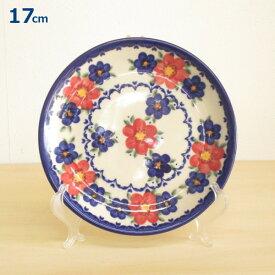 ポーリッシュポタリー プレート 17cm 皿 花柄 陶器 ポーランド食器 ボレスワヴィエツ VENA社