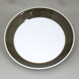 白山陶器 波佐見焼 和食器 中皿(18.5cm) 丸皿 麻の糸