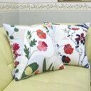 クッションカバー 45×45cm 正方形 北欧 綿(コットン) Boras Cotton(ボラス) ドリス