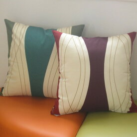 クッションカバー 45×45cm 正方形 北欧 綿(コットン) Boras Cotton(ボラス) ロック