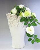 フラワーベース花瓶小花(白)【あす楽対応_関東】【楽ギフ_包装】【楽ギフ_のし宛書】