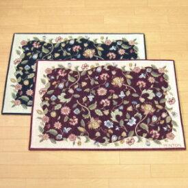 玄関マット 室内 ゴブラン織り 68×120 ミントン ハドンホール