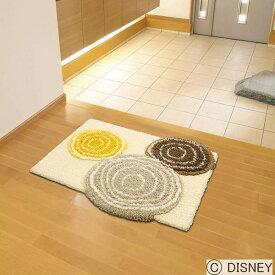 玄関マット 室内 ディズニー ミッキーマウス 60×70cm ミッキー/リングマット