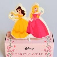 ディズニーキャラクターパーティーキャンドル「プリンセス」