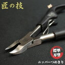 【爪切り ニッパー 巻き爪】 匠の技 ステンレス製 ニッパー式つめきり G-1001 【グリーンベル】 【あす楽対応】
