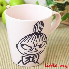 ムーミン モノクロ マグカップ 【ミィ (リトルミイ)】 MM39-3-11 【山加商店】 【あす楽対応】