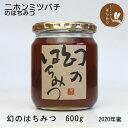 はちみつ 国産 ニホンミツバチ(日本蜜蜂)のはちみつ 600g(2020年新蜜)非加熱 【幻のはちみつ】うまいッ!NHK