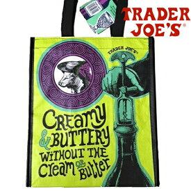 【メール便可】Trader Joe's トレーダー ジョーズ 6ボトル リユーザブル トートバッグ ワインやペットボトルが6本入る仕切り付き エコバッグ トート ショッピングバッグ トレジョー