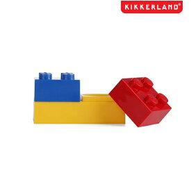 【メール便可】KIKKERLAND キッカーランド 携帯 コンタクトレンズ ケース ビルディング ブロック型
