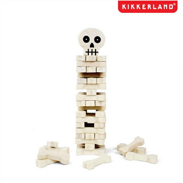 KIKKERLAND キッカーランド スタック・ザ・ボーンズ 骨を高く積み上げてそーっと取っていくゲームです!積み木・ゲーム 売れ筋!