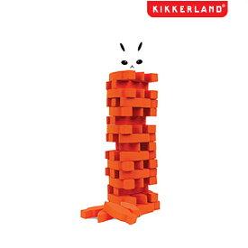 KIKKERLAND キッカーランド スタック ザ キャロッツ ニンジンを高く積み上げてうさぎを倒さないようにそーっと取っていくゲーム 積み木 ゲーム テーブルゲーム パーティーゲーム ホームパーティ キャンプにて アウトドアにも最適!