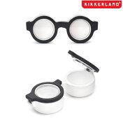 【メール便対応】KIKKERLANDキッカーランド携帯コンタクトレンズケースめがね眼鏡型