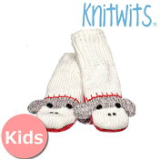KnitwitsbyDeluxニットウィッツバイデラックスキュートソックモンキーミトングローブ靴下モンキーミトン手袋キッズニット子供