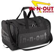 【送料無料】In-N-OutBurgerイン・アンド・アウトバーガーダッフルバッグトラベルバッグボストンバッグ旅行合宿荷物の多い時に!アメリカ西海岸で人気のハンバーガーショップのグッズです!