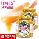 マヌカハニー UMF5+ 500g 【2個セット】(MGO83〜146相当) はちみつ 非加熱 100%純粋 生マヌカ ハニーマザー オーガニック manuka マヌカはちみつ 生はちみつ ハチミツ 蜂蜜