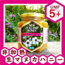 【19周年イベント開催中】マヌカハニーUMF認定 5+ 500g抗生物質をみつばちに与えないオーガニック養蜂。ハニーマザーのマヌカハニーはキャラメルのようなコク...