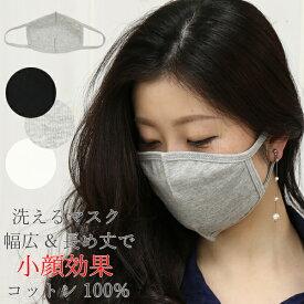 コットンマスク マスク 洗える 清潔 エコ コットン 綿 洗濯可能 無地 20枚まとめてメール便発送可