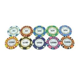 ゴルフ グリーンマーカー ポーカー カジノ チップ マーカー 10枚セット ラウンド用品