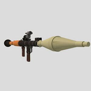 RPG-7 ペーパークラフト ロケット ランチャー リアルな迫力! 原寸大 1:1スケール