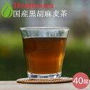 胡麻麦茶 麦茶 国産 黒胡麻麦茶 10g x 40p( 400g ティーバッグ ) ほんぢ園 < 胡麻麦茶 おすすめ 血圧測定 ペットボ…