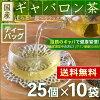 Japanese Gabalong green tea - green tea with GABA from Japan - 2g x 25 tea bags x 10 packs - blood pressure