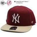 b系 ヒップホップ ストリート系 ファッション メンズ レディース キャップ 【B-SRSTT17WBP-CA】 フォーティーセブンブランド 47BRAND ニューヨーク ヤンキース コラボ 帽子 C