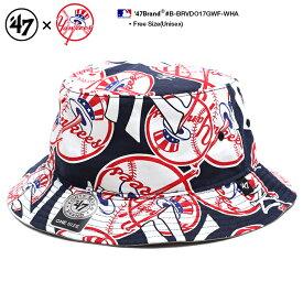 000a1499303 フォーティーセブンブランド 47BRAND ハット バケットハット バケハ 帽子 メンズ レディース 紺 男女兼用 b