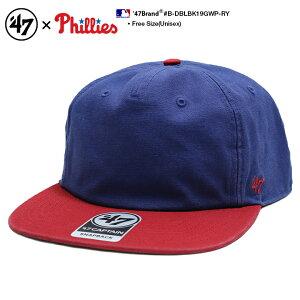 b系 ヒップホップ ストリート系 ファッション メンズ レディース キャップ 【B-DBLBK19GWP-RY】 フォーティーセブンブランド 47BRAND CAP 帽子 ベースボール MLB メジャーリーグ フィラデルフィア フ