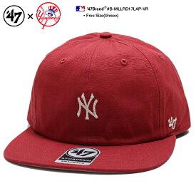 b系 ヒップホップ ストリート系 メンズ レディース キャップ 【B-MLLRD17LAP-VR】 フォーティーセブンブランド 47BRAND ニューヨーク ヤンキース 帽子 CAP ベースボール MLB メジャーリーグ キャンバス アウトドア アメカジ 男女兼用 正規品 ギフト