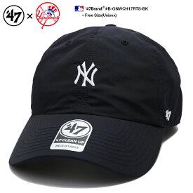 b系 ヒップホップ ストリート系 メンズ レディース ローキャップ 【B-GNWCH17RTS-BK】 フォーティーセブンブランド 47BRAND ニューヨーク ヤンキース 帽子 CAP ベースボール MLB メジャーリーグ ナイロン アウトドア アメカジ 応援 黒 正規品 ギフト