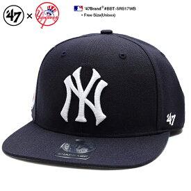 b系 ヒップホップ ストリート系 ファッション メンズ レディース キャップ 【BBT-SRS17WBP-NY】 47BRAND ニューヨーク ヤンキース フォーティーセブンブランド 76年 ロゴ 限定品 帽子 コラボ CAP MLB メジャーリーグ 刺繍 USAモデル 紺 正規品 ギフト
