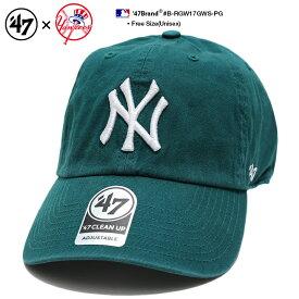 b系 ヒップホップ ストリート系 ファッション メンズ レディース ローキャップ 【B-RGW17GWS-PG】 フォーティーセブンブランド 47BRAND ニューヨーク ヤンキース 帽子 CAP ボールキャップ MLB メジャーリーグ 刺繍 アメカジ スポーツ ゴルフ スケート 正規品 ギフト
