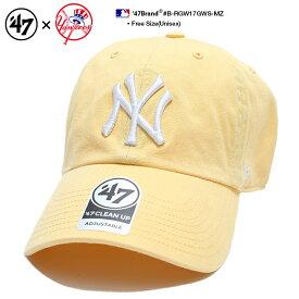 b系 ヒップホップ ストリート系 ファッション メンズ レディース ローキャップ 【B-RGW17GWS-MZ】 フォーティーセブンブランド 47BRAND ニューヨーク ヤンキース 帽子 CAP ボールキャップ MLB メジャーリーグ 刺繍 アメカジ スポーツ ゴルフ スケート 正規品 ギフト