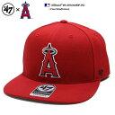 ロサンゼルス エンゼルス 帽子 キャップ CAP メンズ レディース 【B-SRS04WBP-RD】 フォーティーセブンブランド 47BRAND かっこいい グッズ MLB 公式 メジャーリーグ ベー