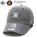 阪神タイガース CAP Tigers 応援 グッズ ローキャップ ボールキャップ 帽子 【MNMSU04CXS】 フォーティーセブンブラン…