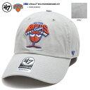 47BRAND フォーティーセブンブランド 帽子 キャップ ローキャップ ボールキャップ CAP メンズ レディース グレー ニュ…