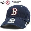 フォーティーセブンブランド 47BRAND 帽子 ローキャップ ボールキャップ CAP メンズ レディース 紺 男女兼用 b系 ヒップホップ ストリート系 ファッション ブランド ボストン レッドソッ