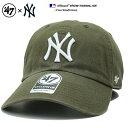 フォーティーセブンブランド 47BRAND 帽子 ローキャップ ボールキャップ CAP メンズ レディース オリーブ 男女兼用 b…