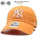 フォーティーセブンブランド 47BRAND 帽子 ローキャップ ボールキャップ CAP メンズ レディース オレンジ b系 ヒップ…