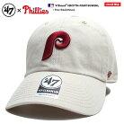 47 キャップ フィラデルフィア フィリーズ メンズ レディース 春夏秋冬用 白 MLB Phillies P…