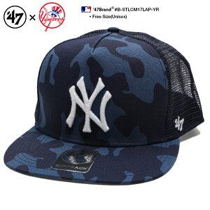 b系 ヒップホップ ストリート系 ファッション メンズ レディース キャップ スナップバック 【B-STLCM17LAP-YR】 フォーティーセブンブランド 47BRAND ニューヨーク ヤンキース 帽子 CAP MLB メジャー