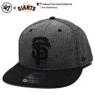 47 キャップ スナップバック 帽子 【B-GIOVN22DMP-BK】 フォーティー…