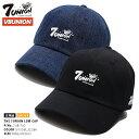 ラッパー輪入道着用 セブンユニオン 7UNION 帽子 キャップ 【7UB-750】 メンズ レディース ローキャップ ボールキャッ…