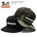 セブンユニオン 7UNION 帽子 キャップ 【IAVW-135】 メンズ レディース CAP おしゃれ 定番 ボックスロゴ VIIUNION BOX…